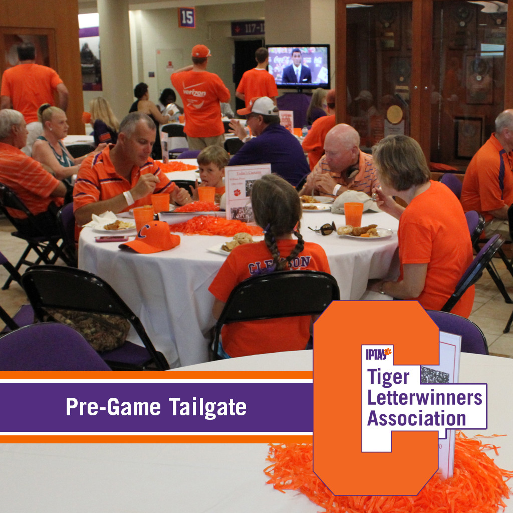 Tiger Letterwinners Association Hosts 1st Tailgate of 2014 Football Season