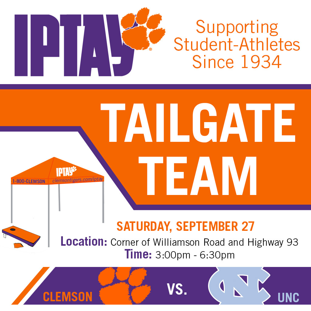 Tailgate Team Sets Location For Hall of Fame Weekend vs. North Carolina