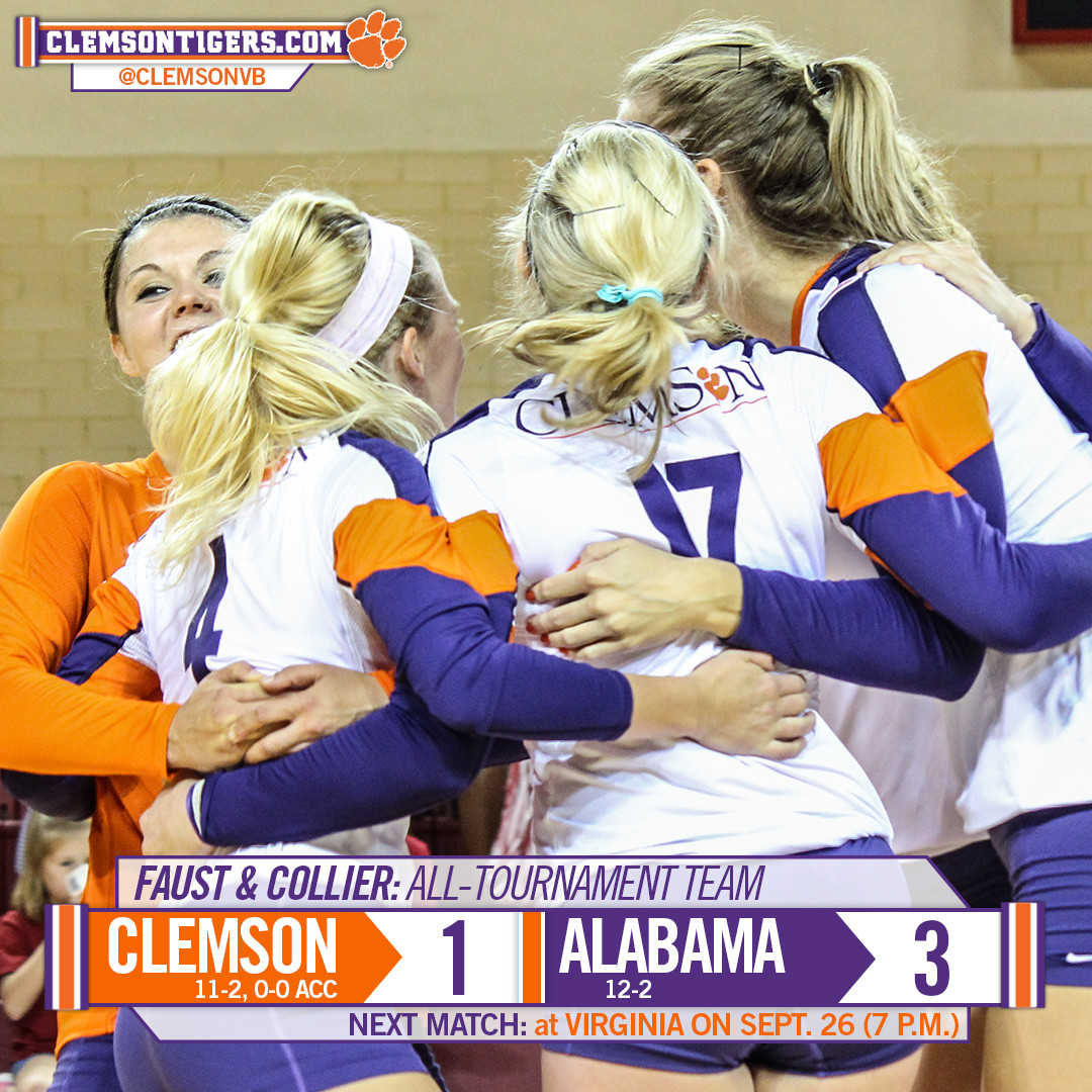 Tigers Split on Final Day in Tuscaloosa