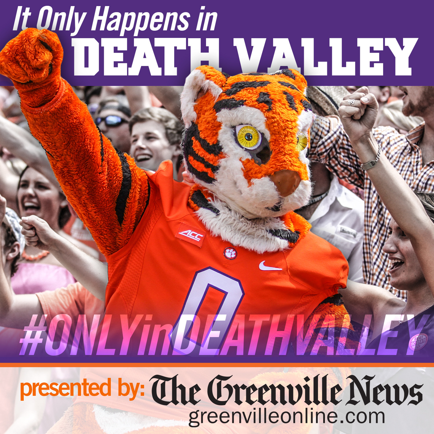 """""""Only in Death Valley"""" presented by The Greenville News"""
