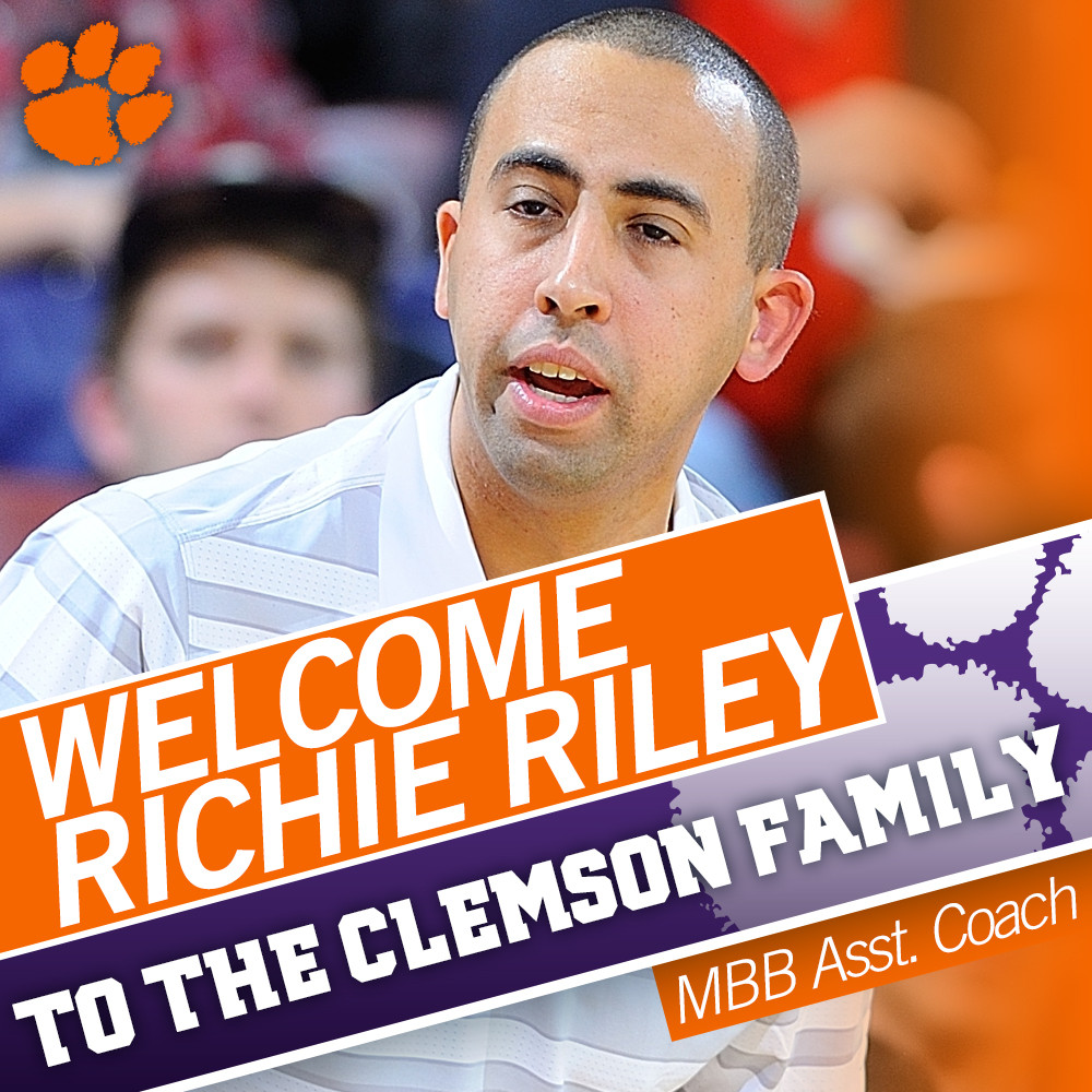 Riley Named Assistant Coach