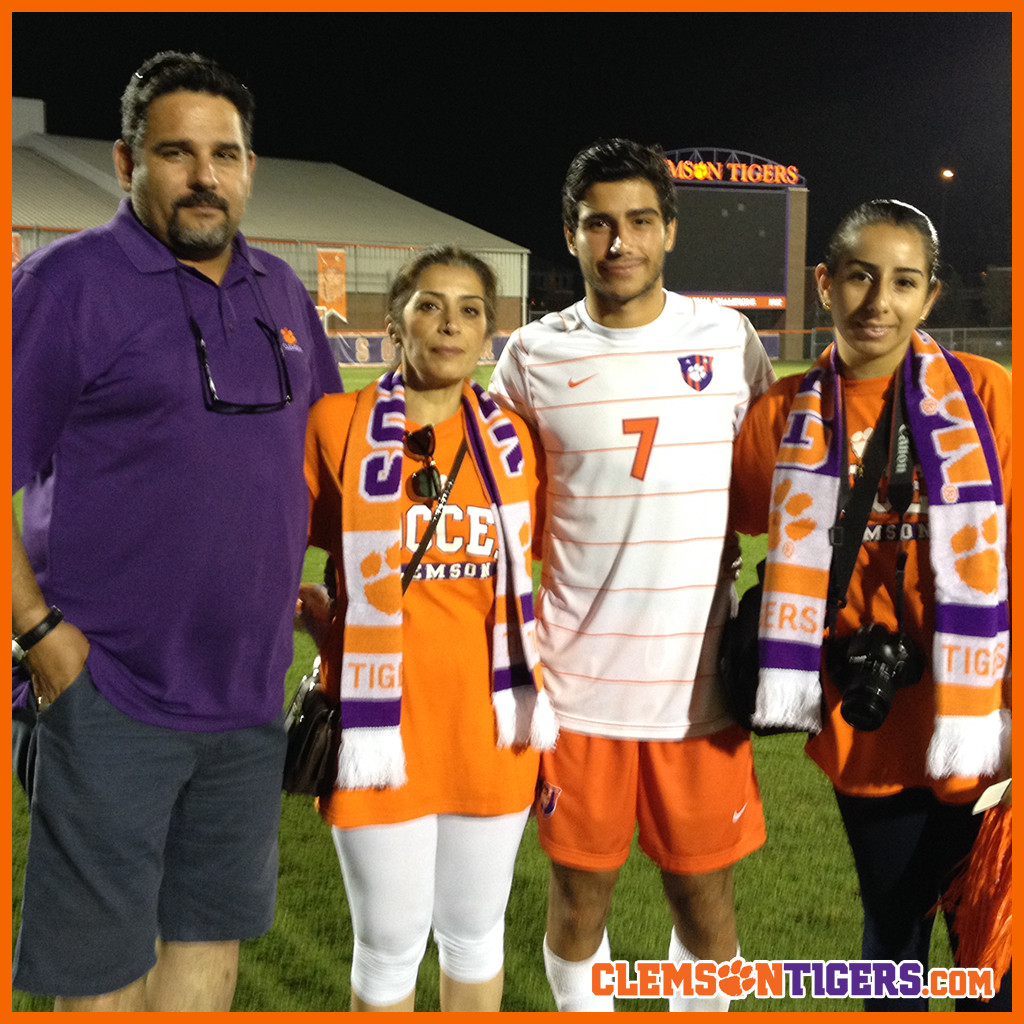 #ClemsonFamily || Mafi Family Visits from Norway