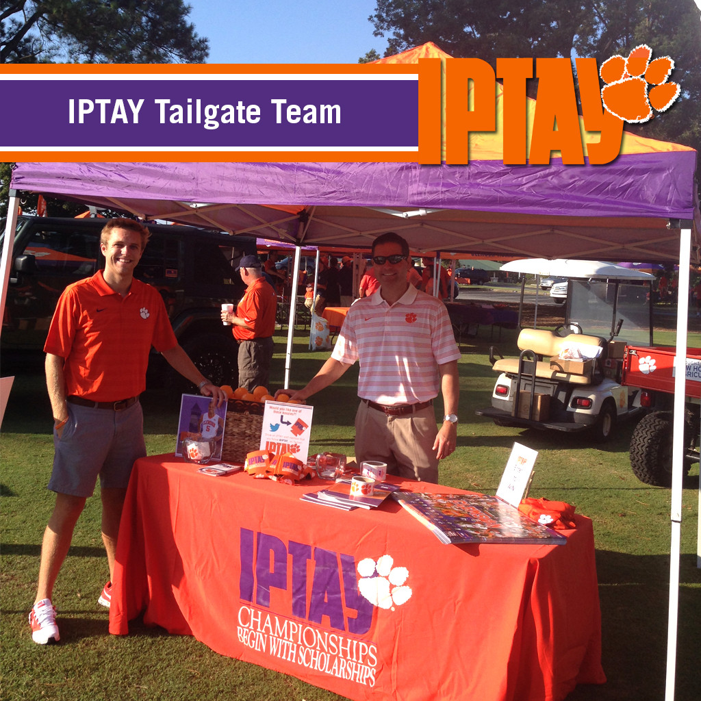 IPTAY Tailgate Team Debuts for Football Home Opener vs. South Carolina State
