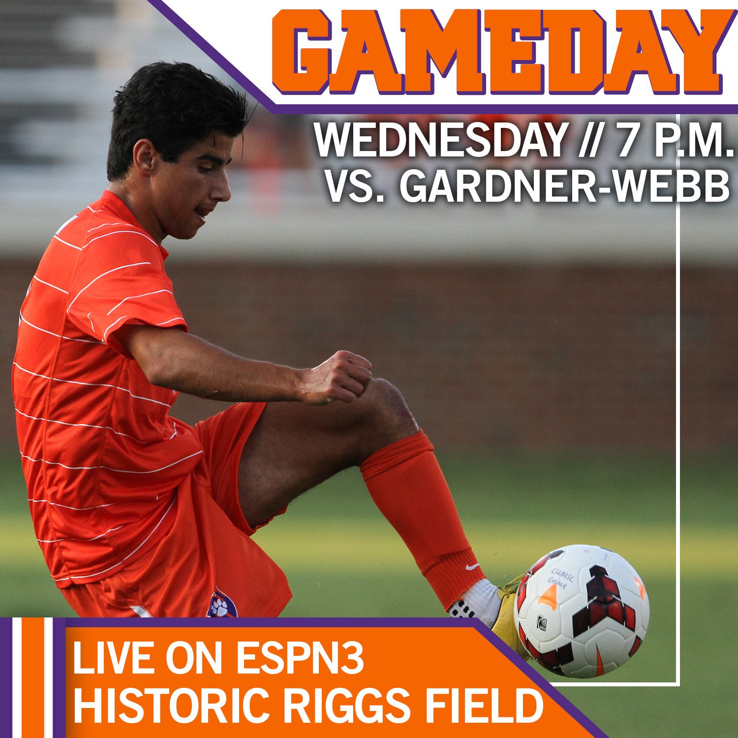 Clemson Returns Home to Face Gardner-Webb on Wednesday