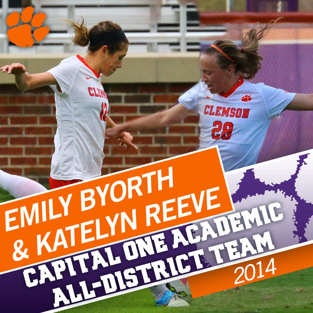Two Tigers Named Capital One Academic All-District