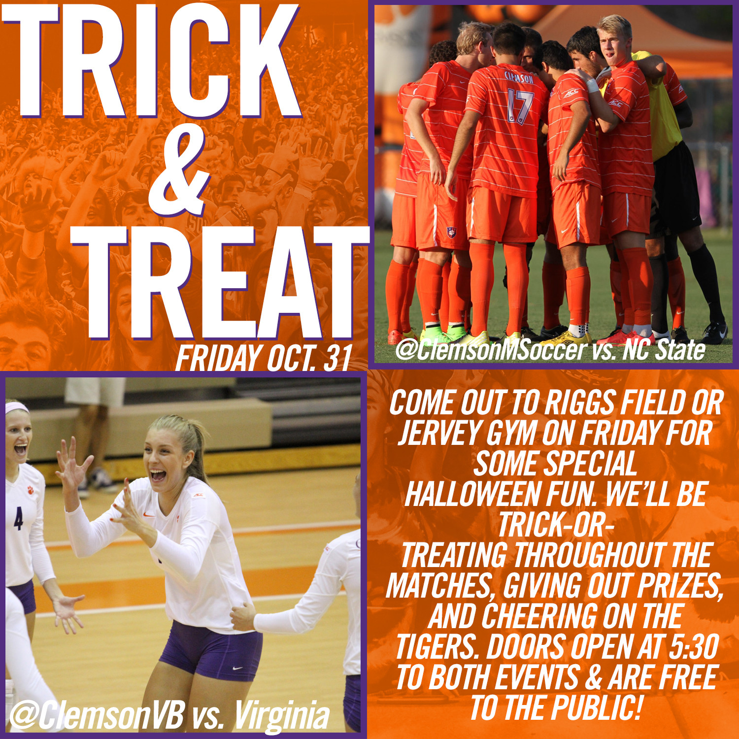Trick-or-Treat with the Tigers