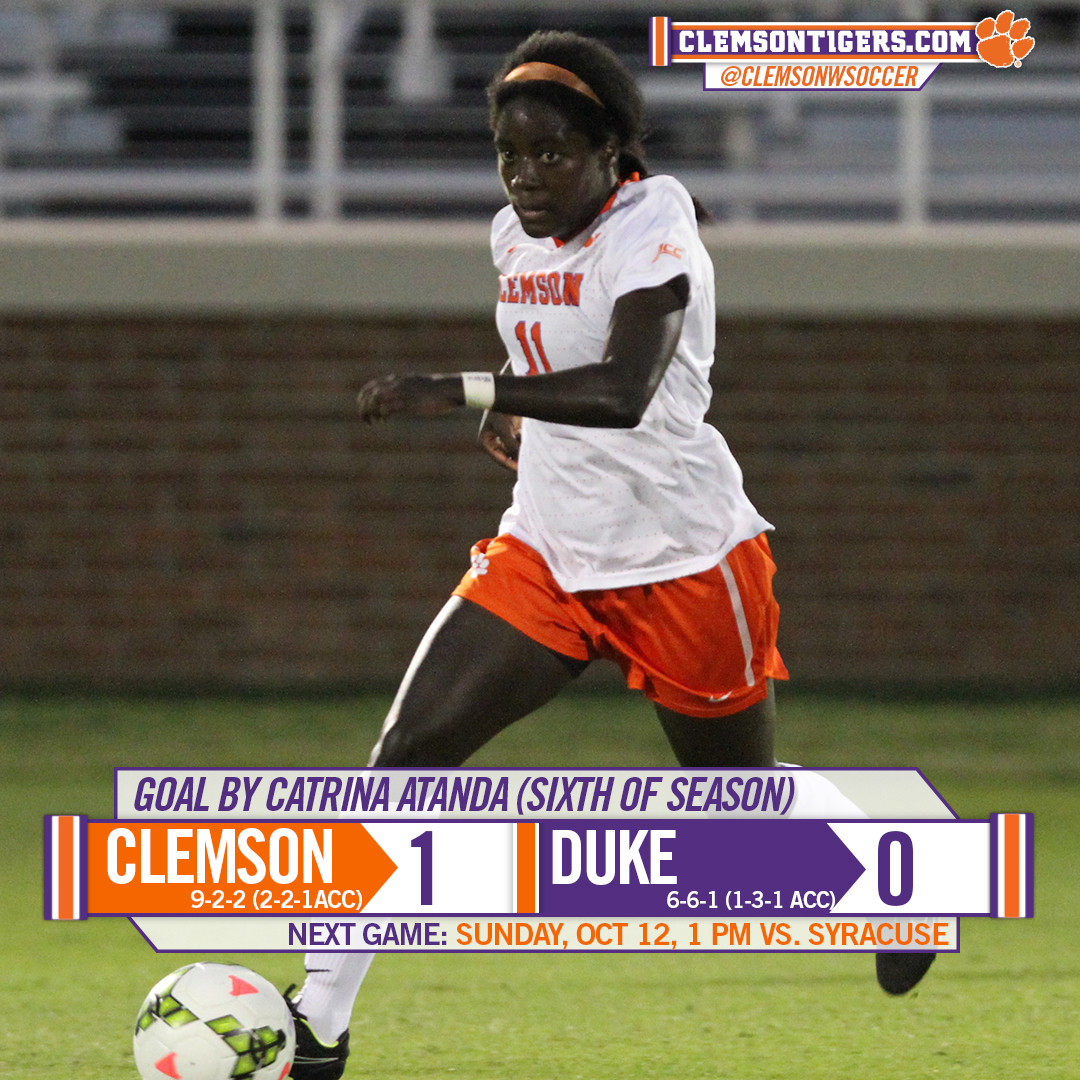 Tigers Down Blue Devils 1-0 Thursday Night at Riggs