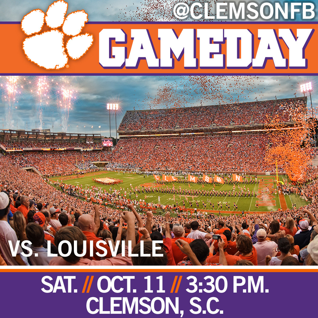 Clemson/Louisville Gameday Guide