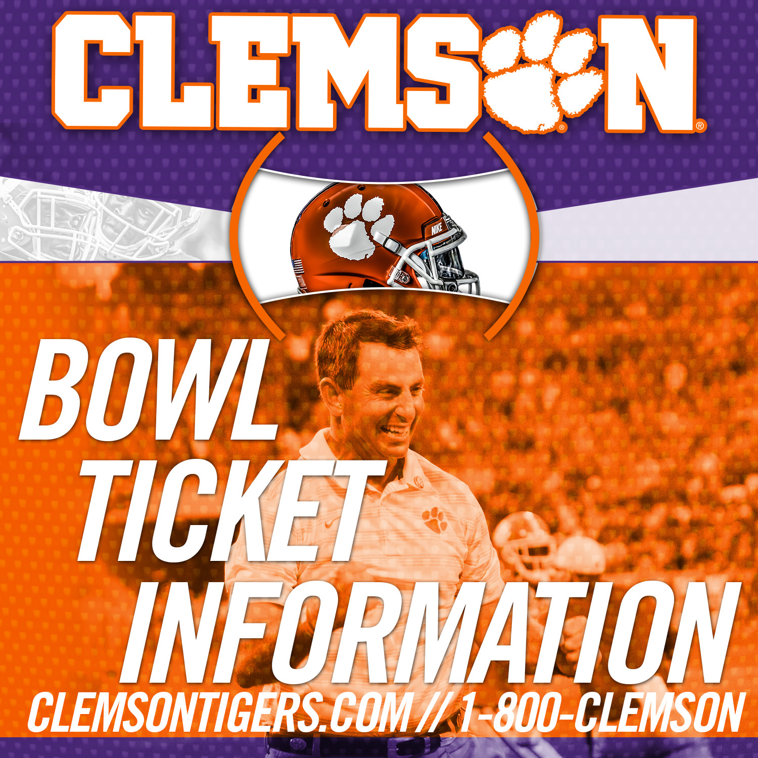 IPTAY Donors Bowl Ticket Information