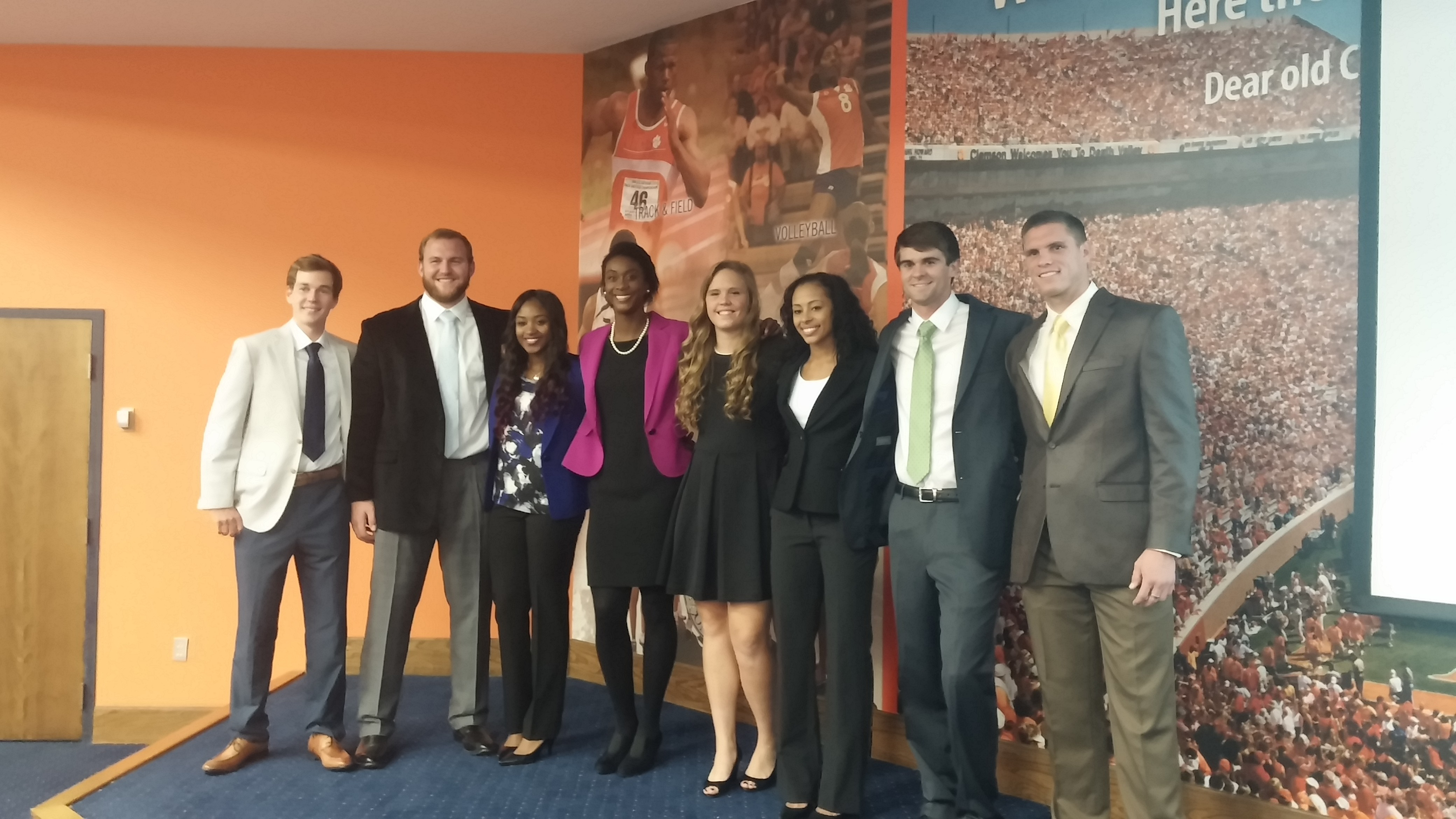 Clemson hosts Networking Bash