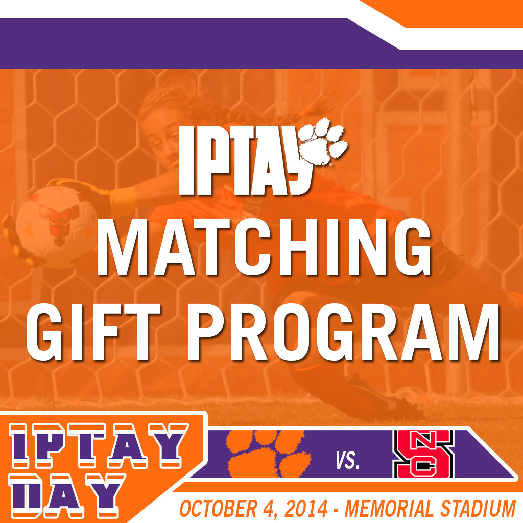IPTAY DAY: The IPTAY Matching Gift Program