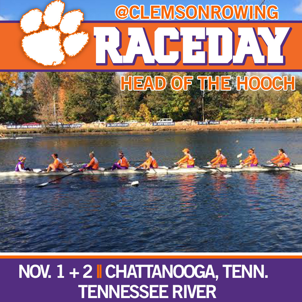 Clemson Continues Fall Slate with Head of the Hooch