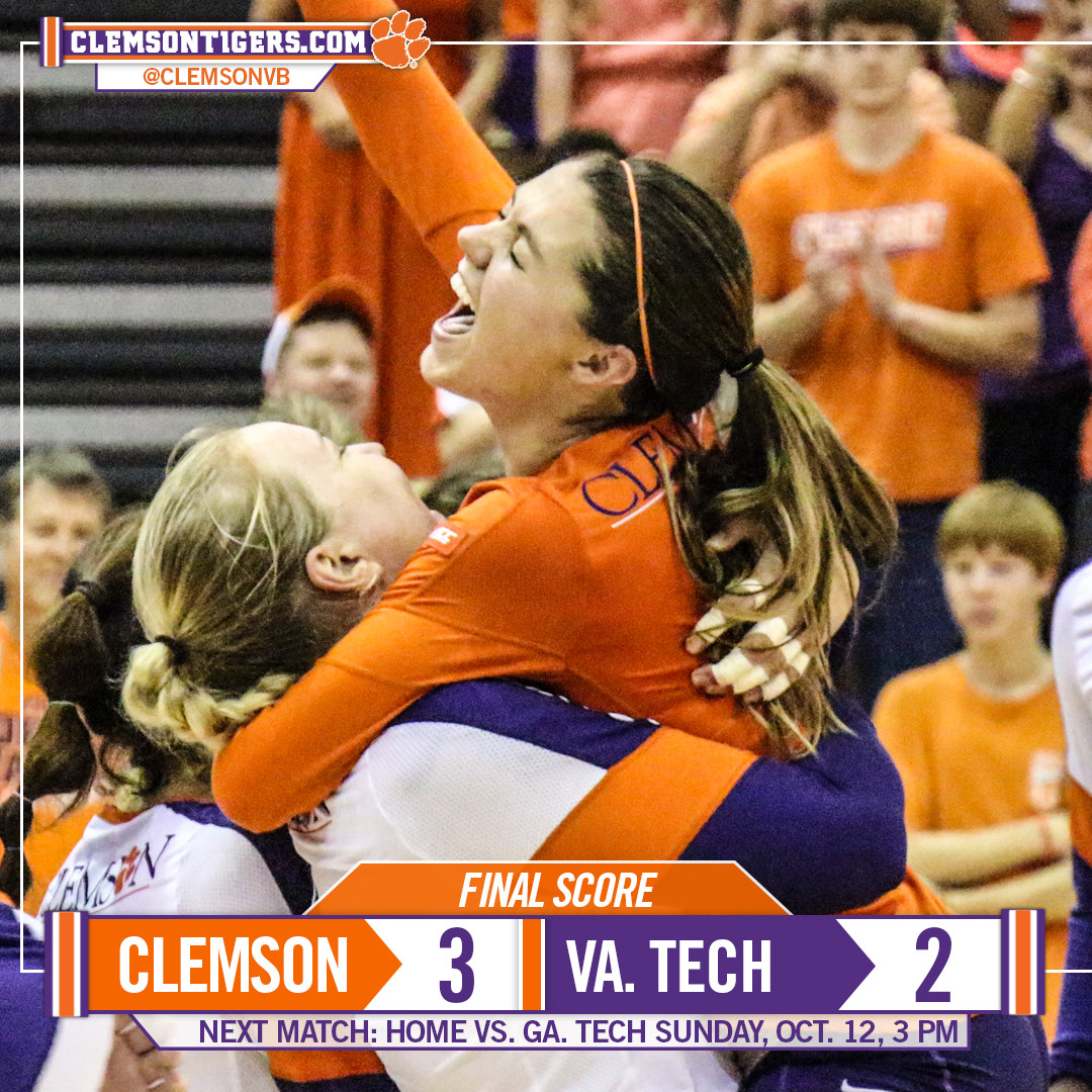 Tigers Mount Big Comeback for 3-2 Win over Virginia Tech