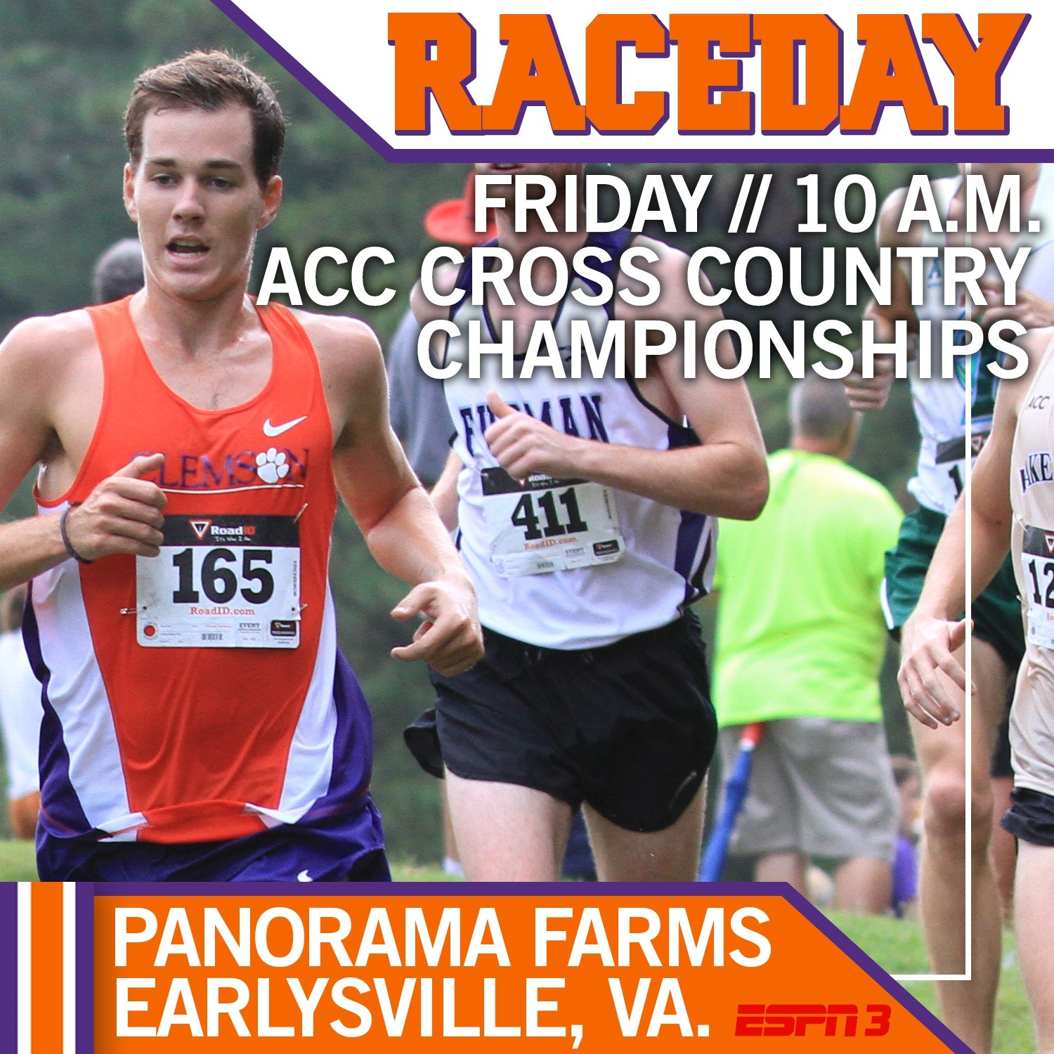 Tigers Ready for #ACCXC Championships