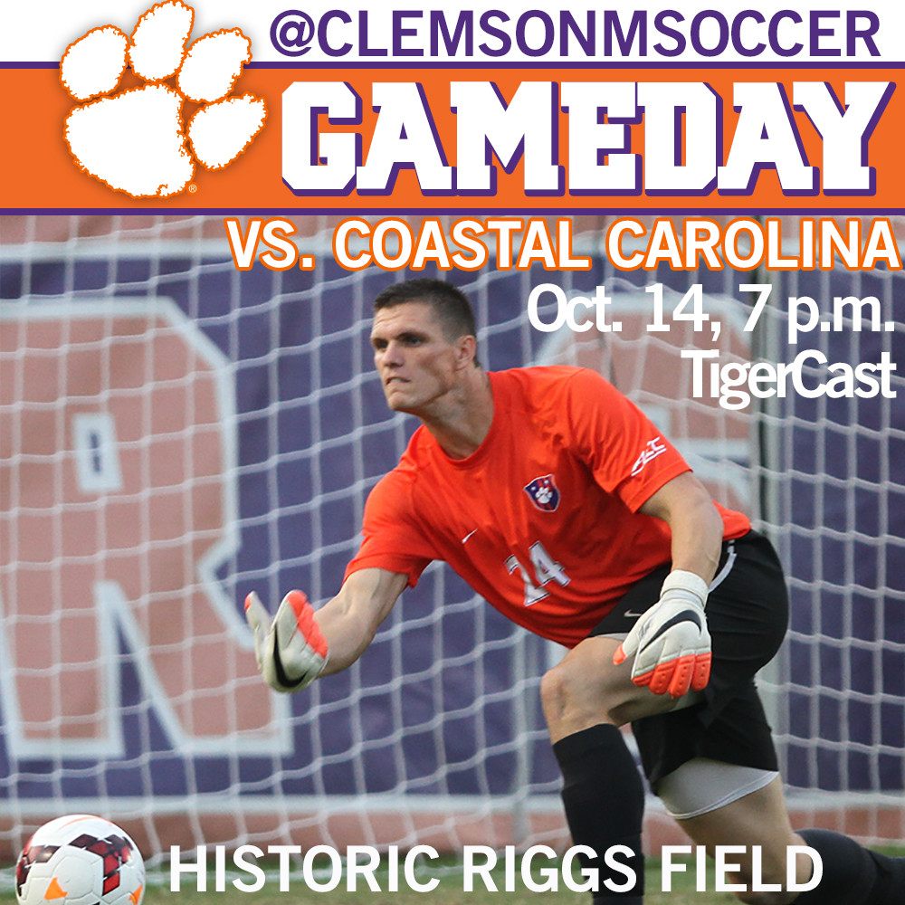 Clemson Hosts Coastal Carolina Tuesday Night