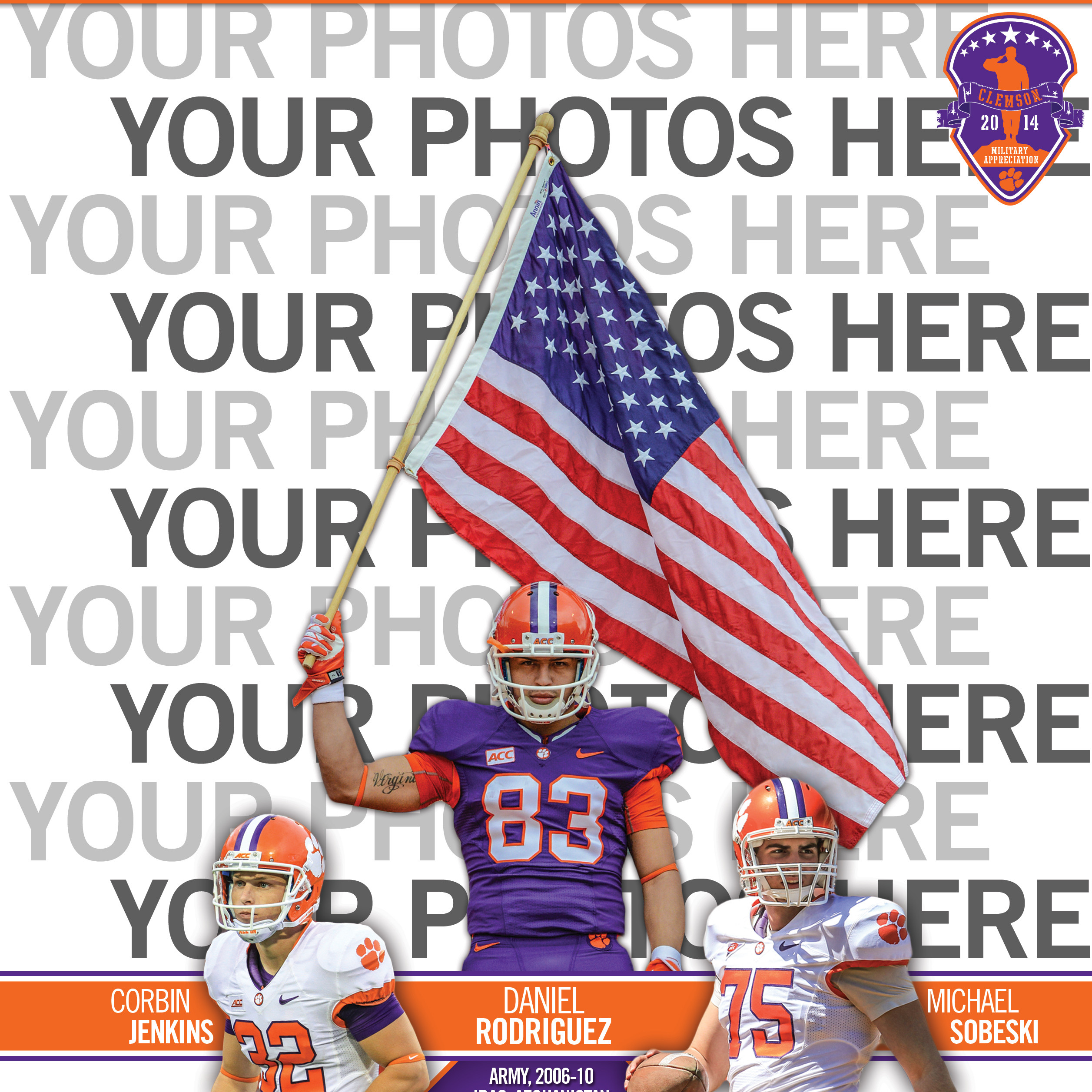 Military Appreciation Day Game Program Cover