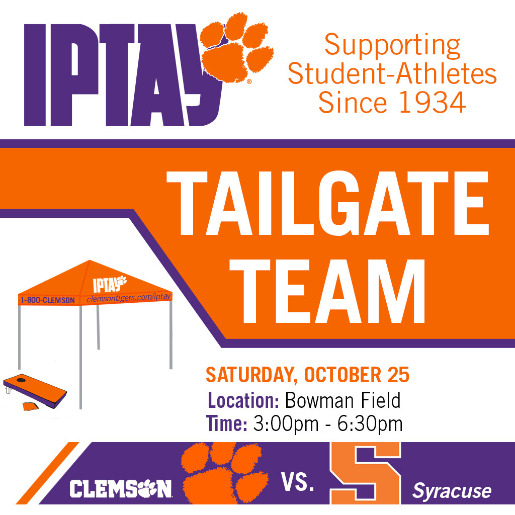Tailgate Team Heads To Bowman Field for Homecoming Festivities vs. Syracuse