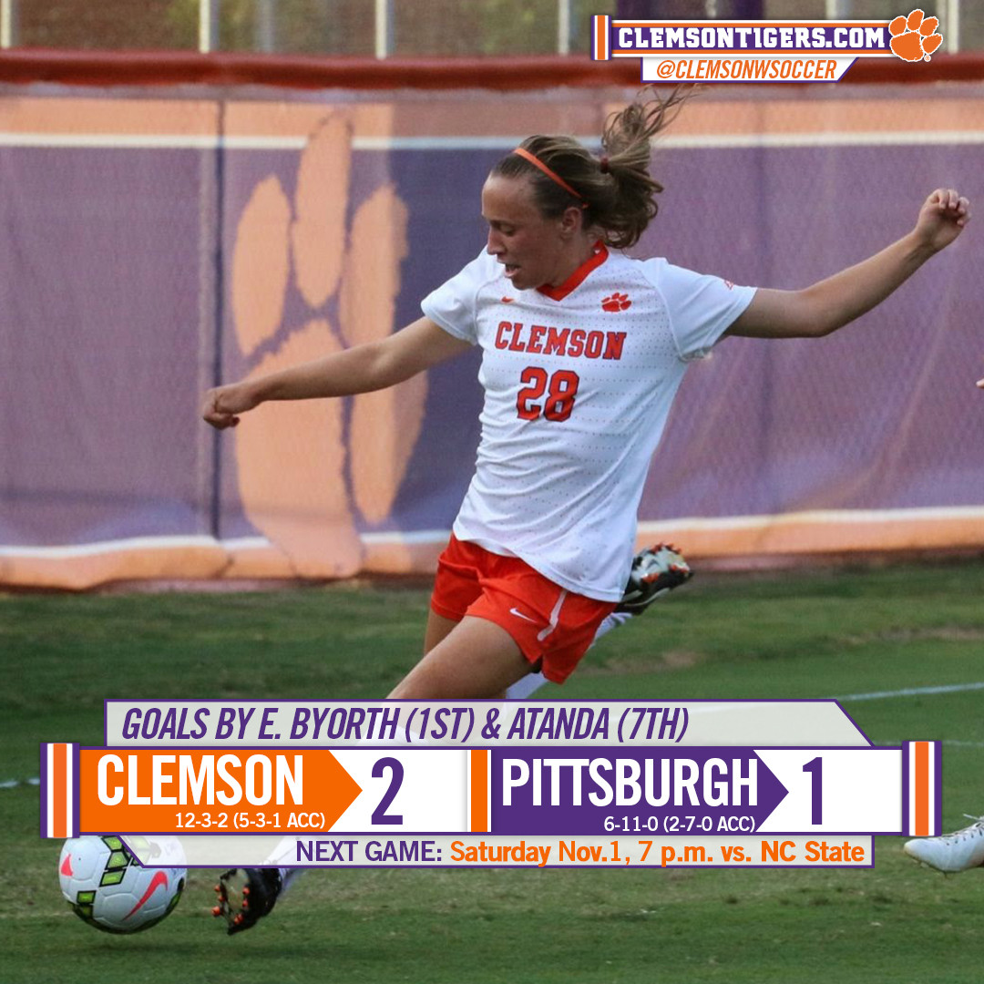 #17 Tigers Down Pittsburgh 2-1 Sunday Afternoon