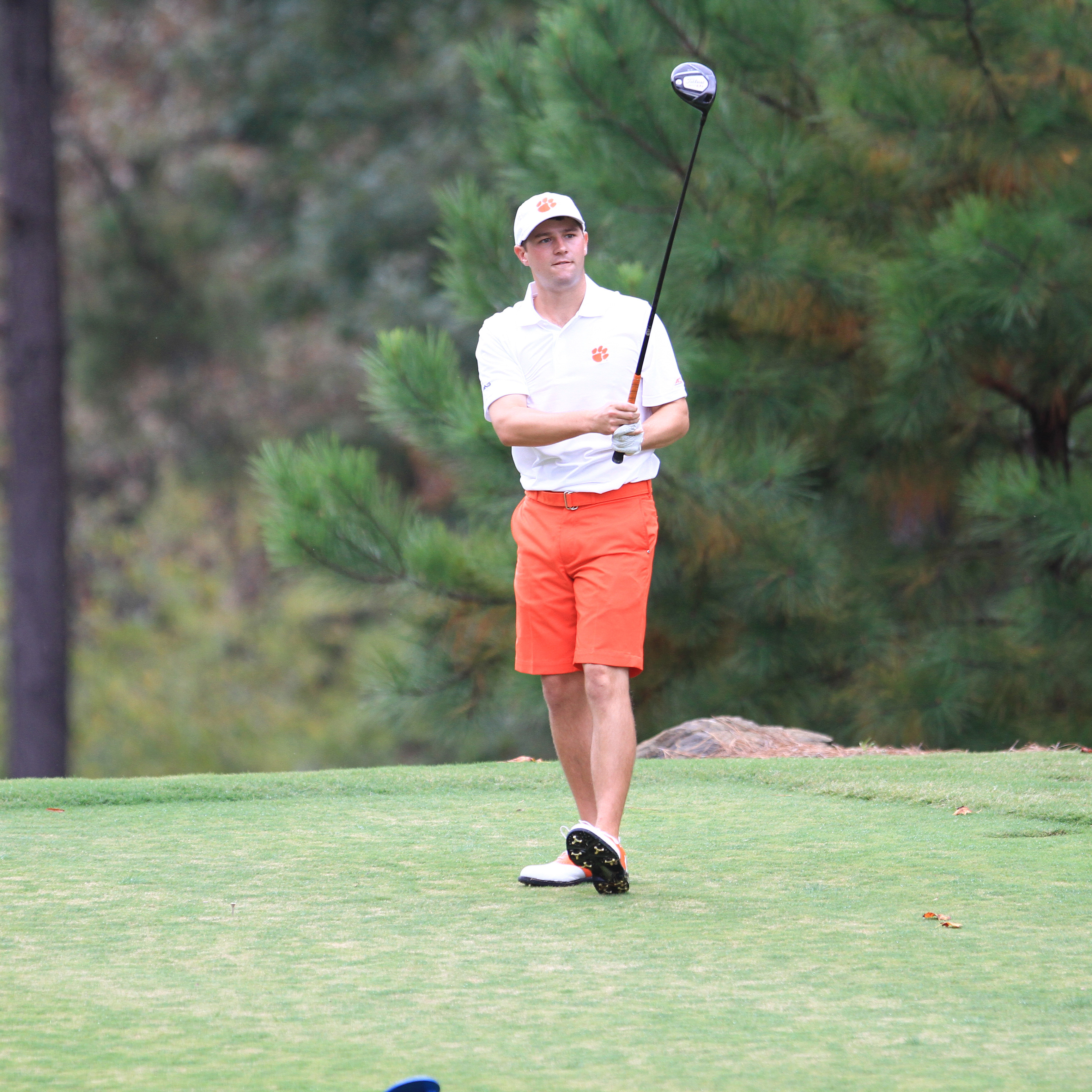 Capps Leads Clemson in Second Round of NCAAs