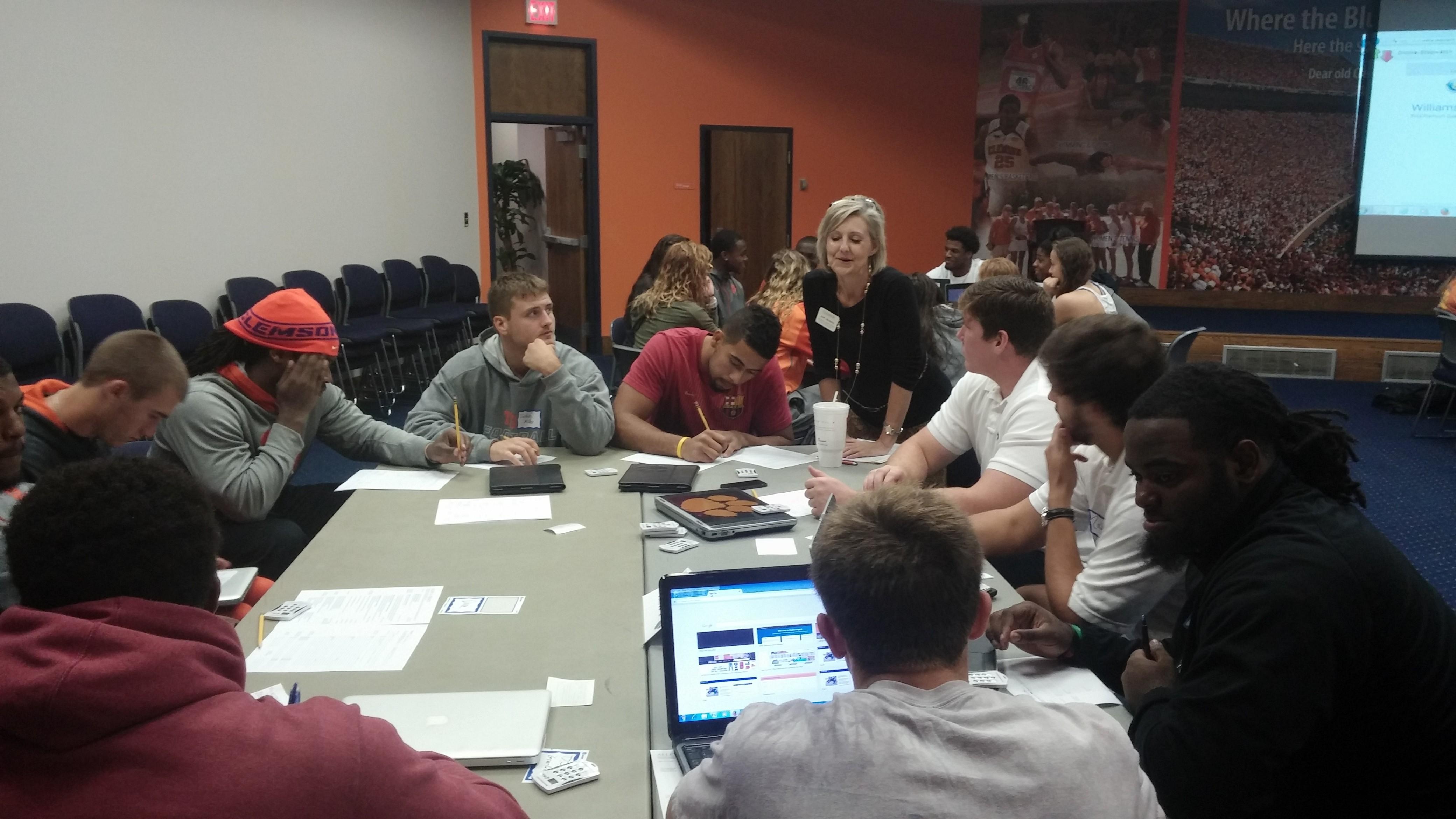 Clemson hosts Resume Workshop