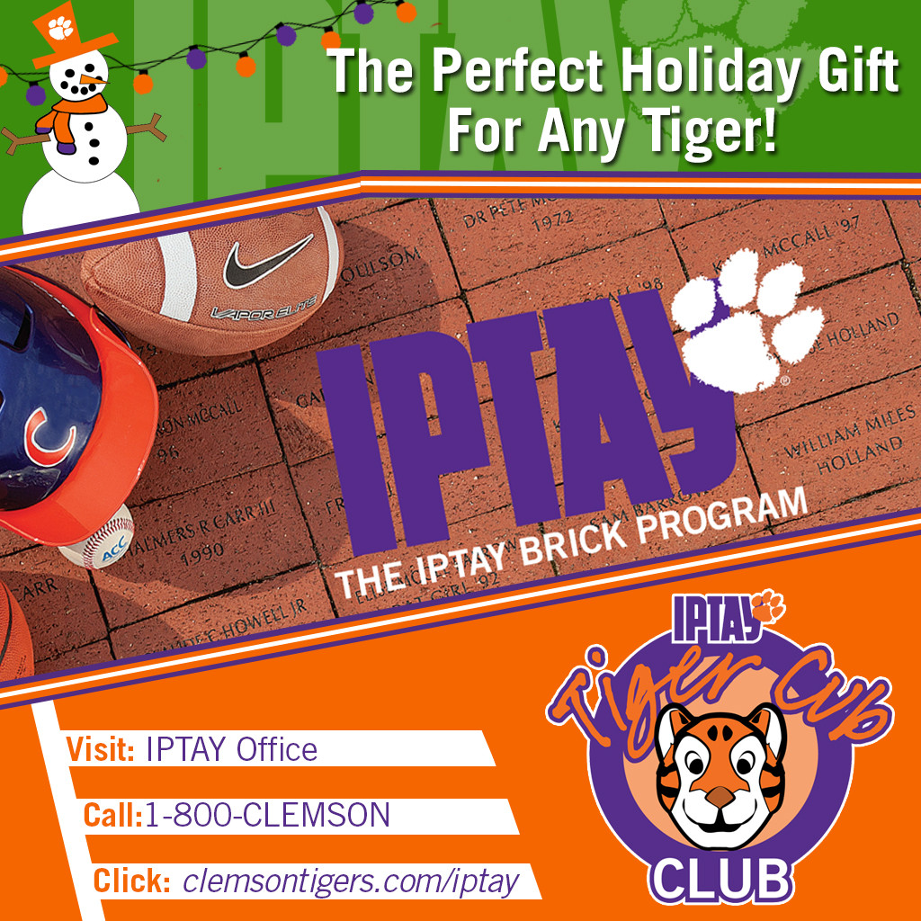 IPTAY Gift Ideas For The Upcoming Holiday Season!
