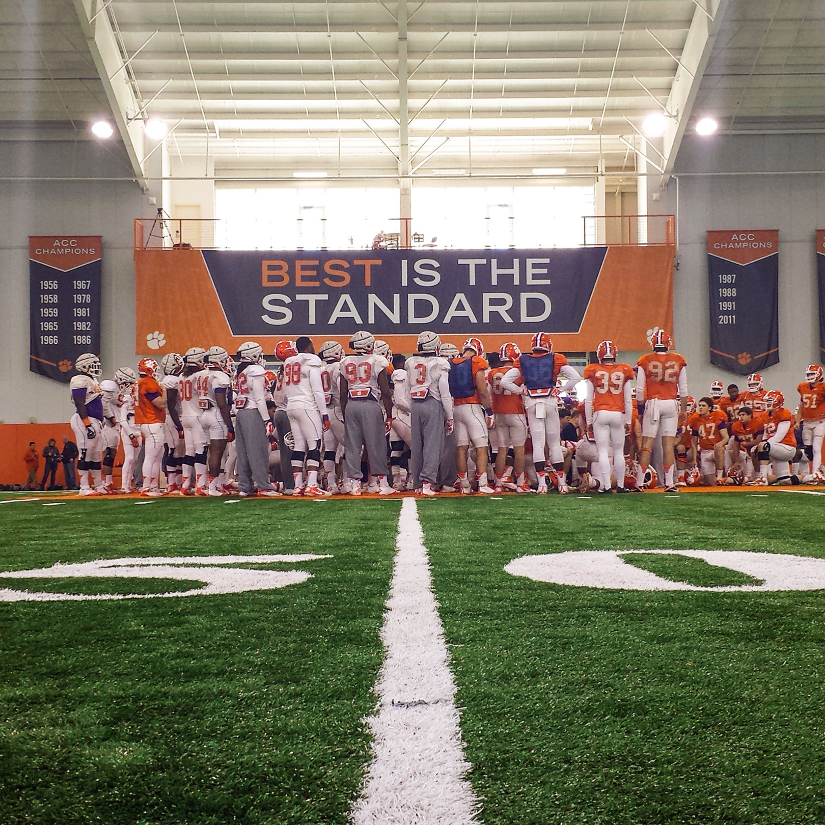 Tigers Hold First Full Bowl Practice