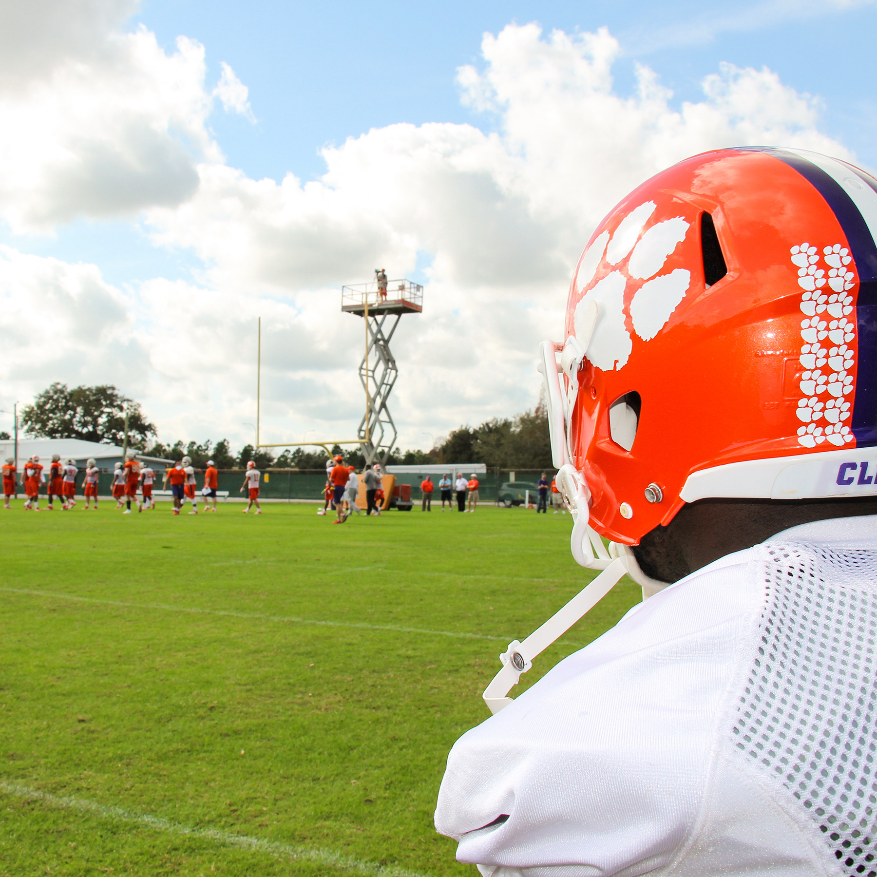 Final Russell Athletic Bowl Practice