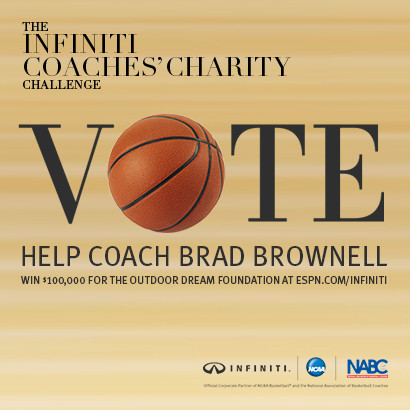 Brownell Participating in Coaches' Charity Challenge