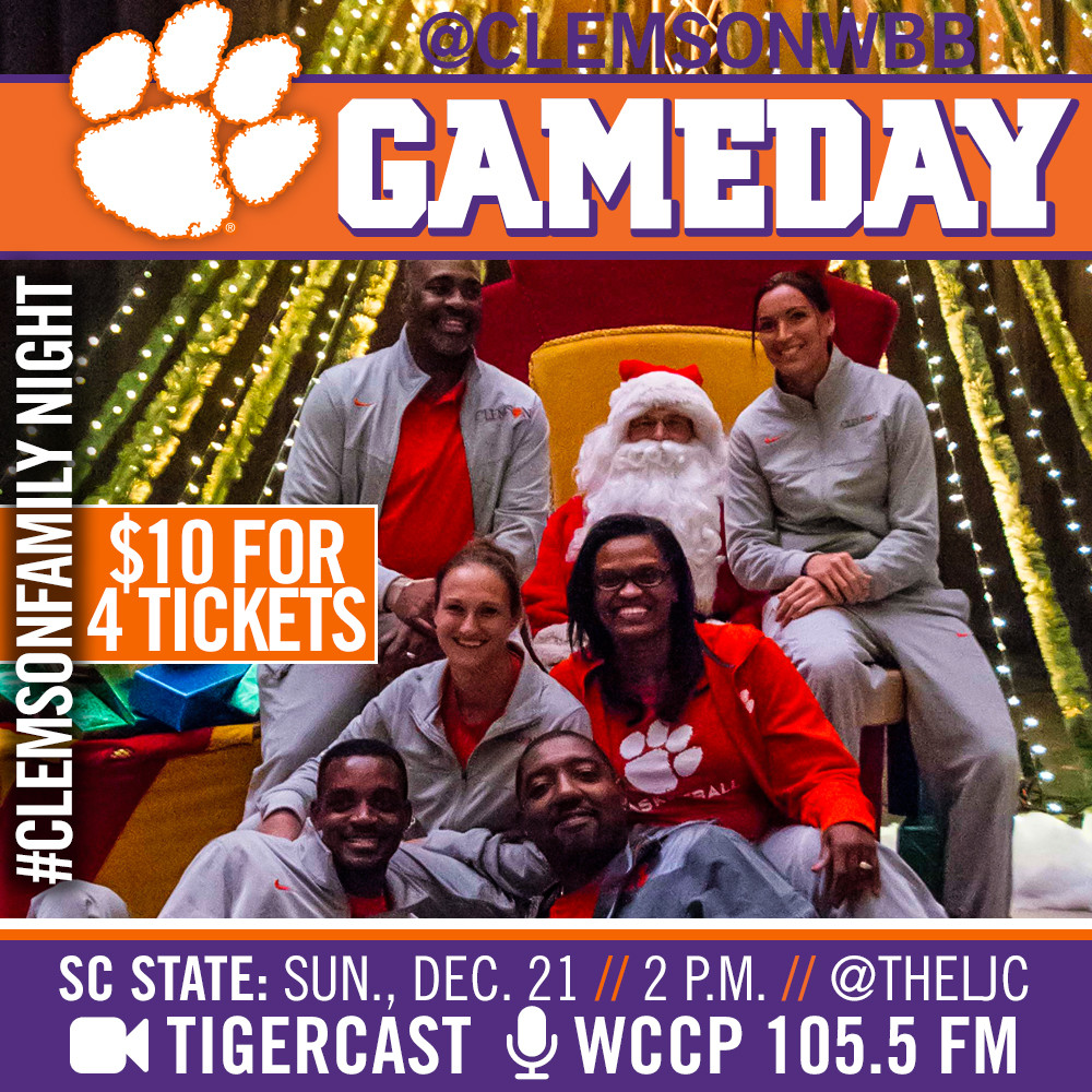 Clemson and SC State Play Sunday