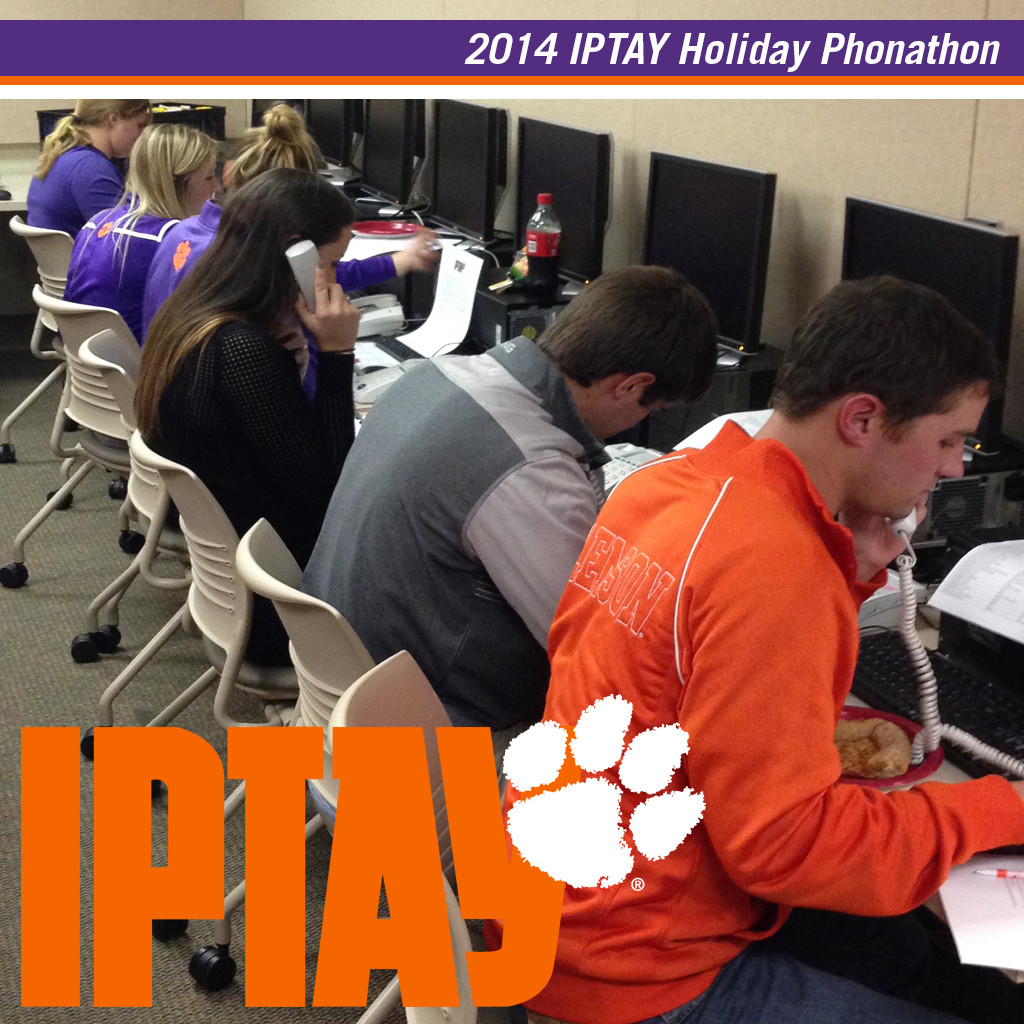 Student-Athletes Thank IPTAY Donors For Their Support This Holiday Season