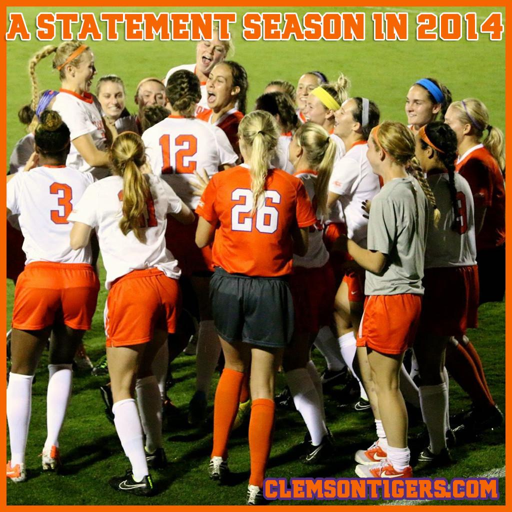 Women's Soccer    A Statement Season in 2014