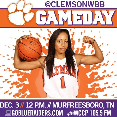 Women?s Basketball Plays at Middle Tennessee