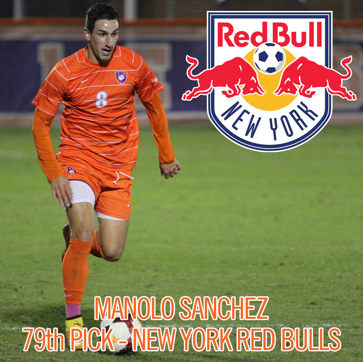 Manolo Sanchez Drafted by New York Red Bulls