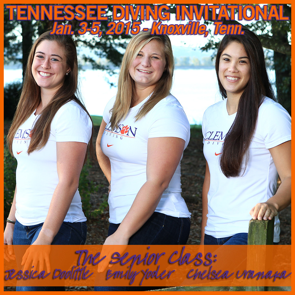 Tigers Return to Action at Tennessee Diving Invitational