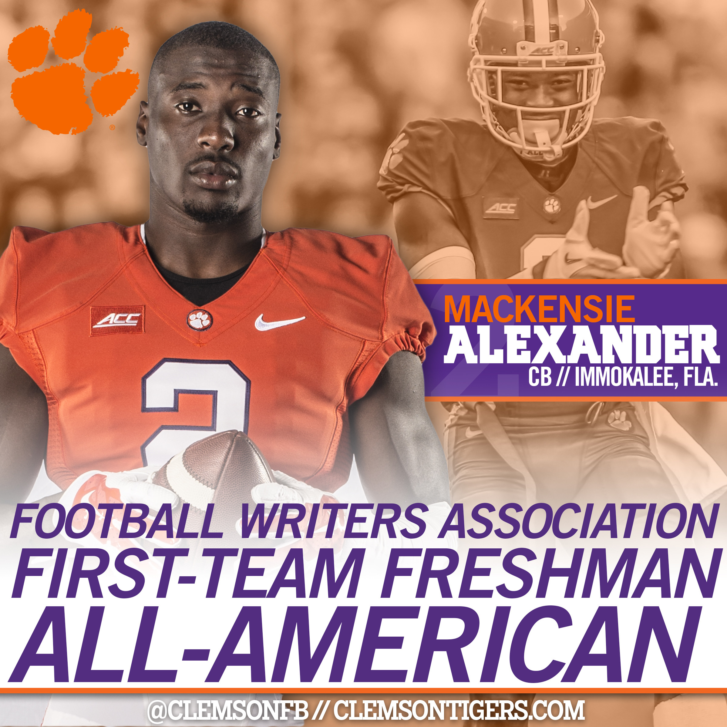 Alexander Earns First-Team Freshman All-America Honor