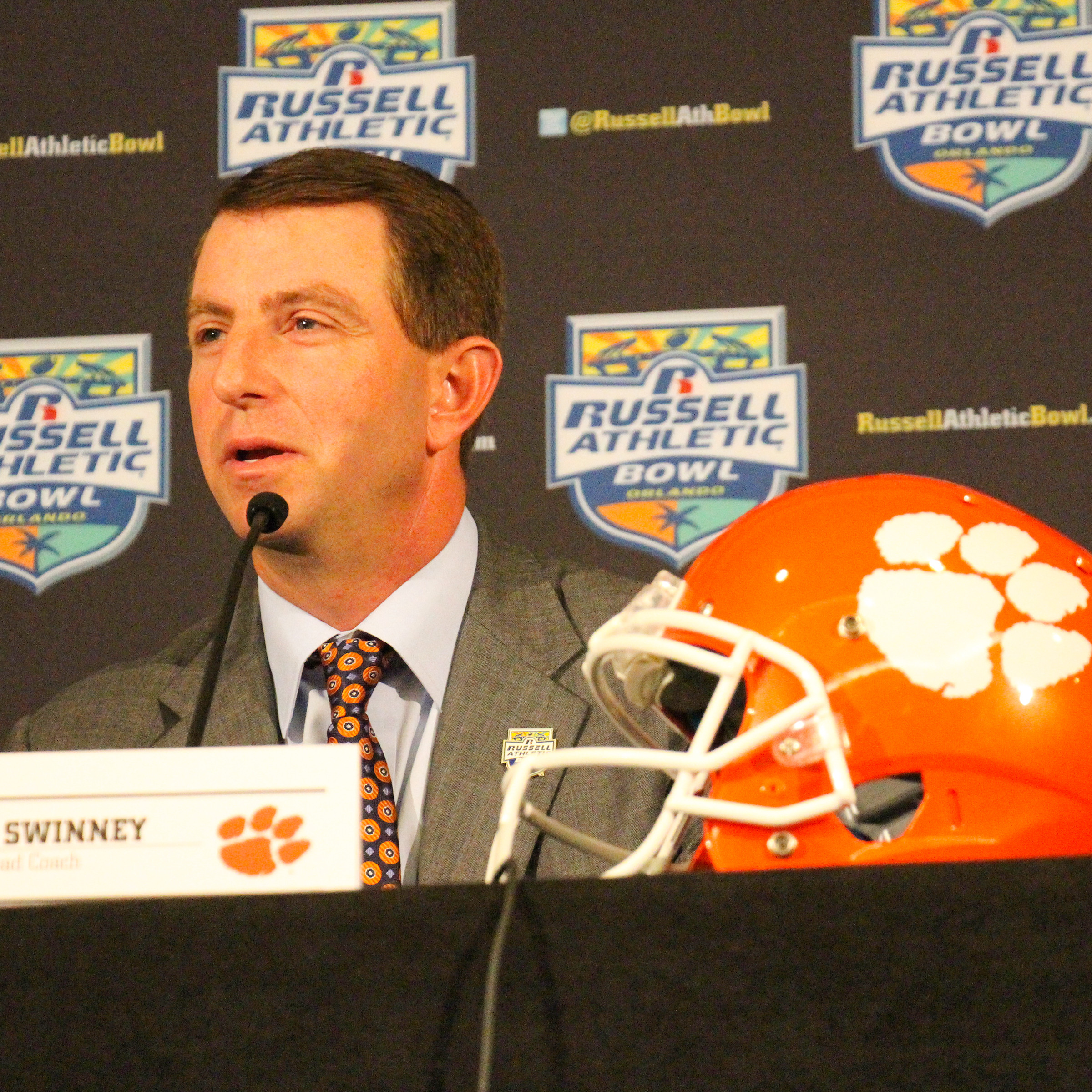 Clemson FB Fights for Respect
