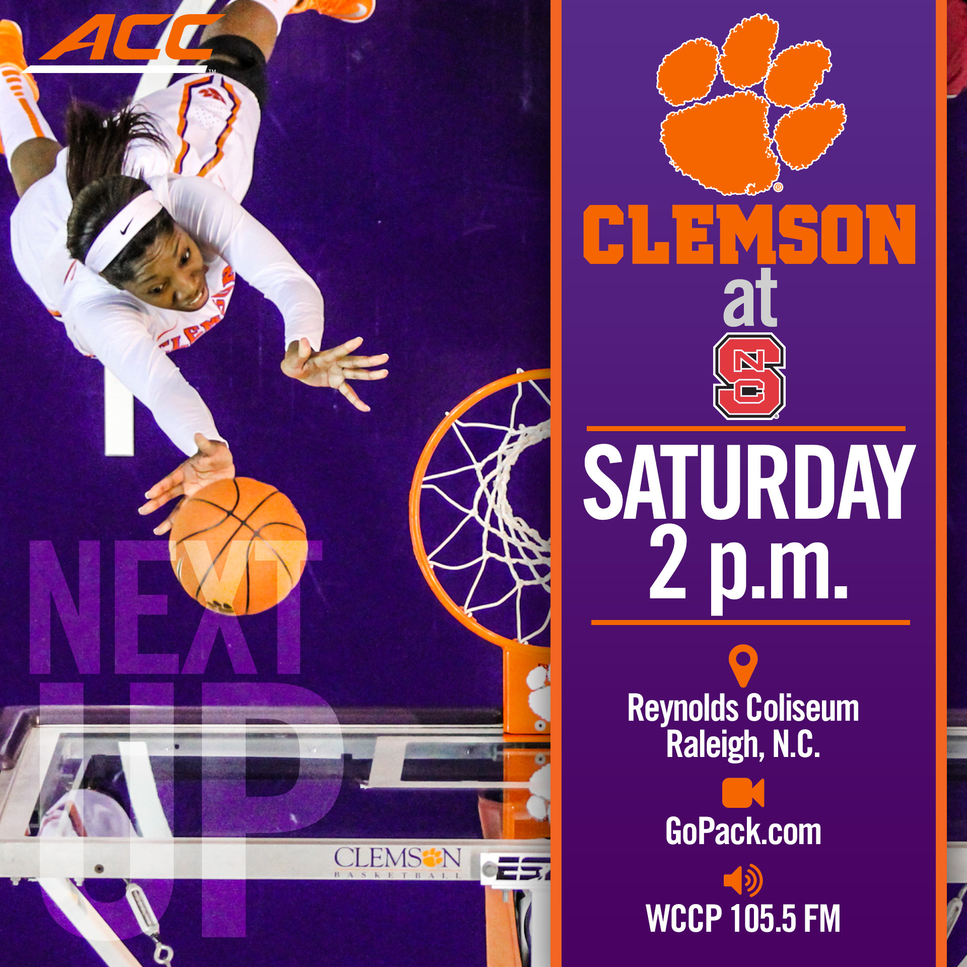 Tigers Travel to Raleigh Saturday