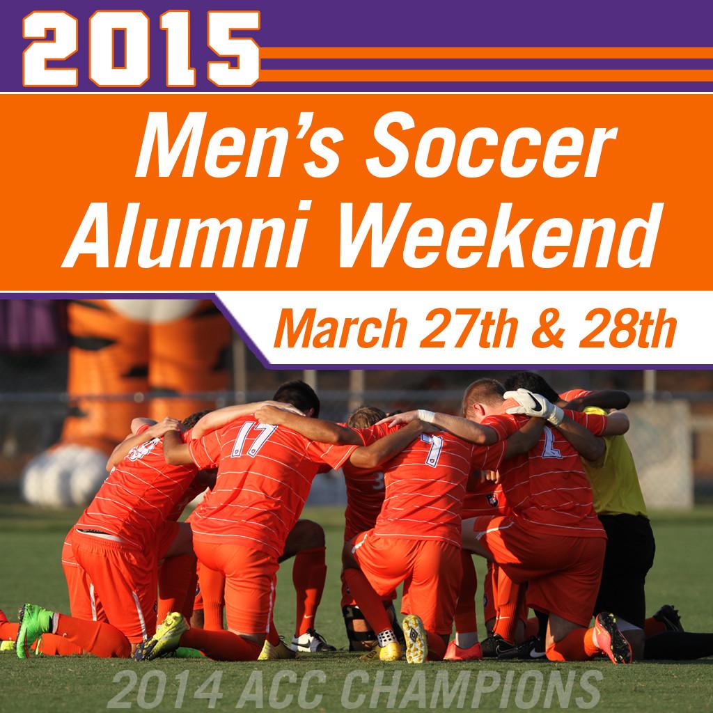 2015 Men?s Soccer Alumni Weekend ? March 27th & 28th