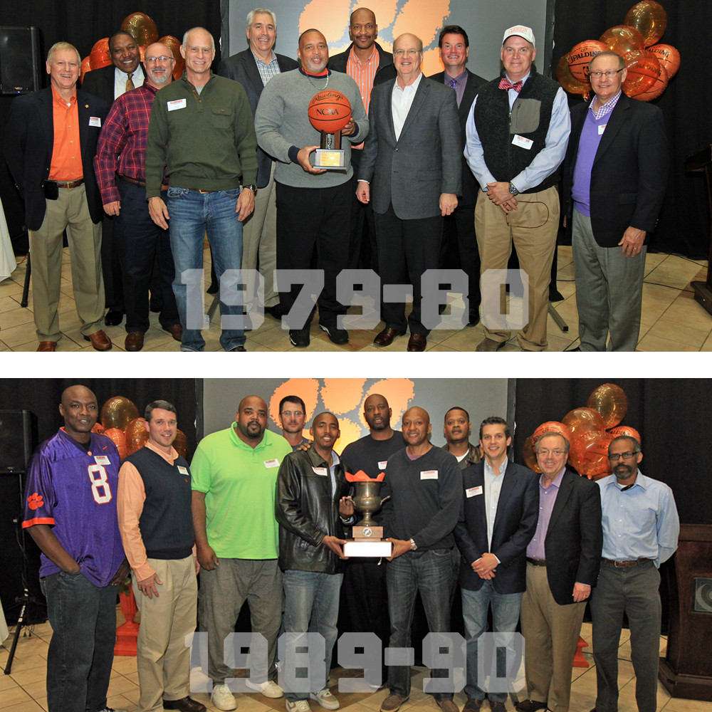 Two of Clemson?s Greatest Teams Honored