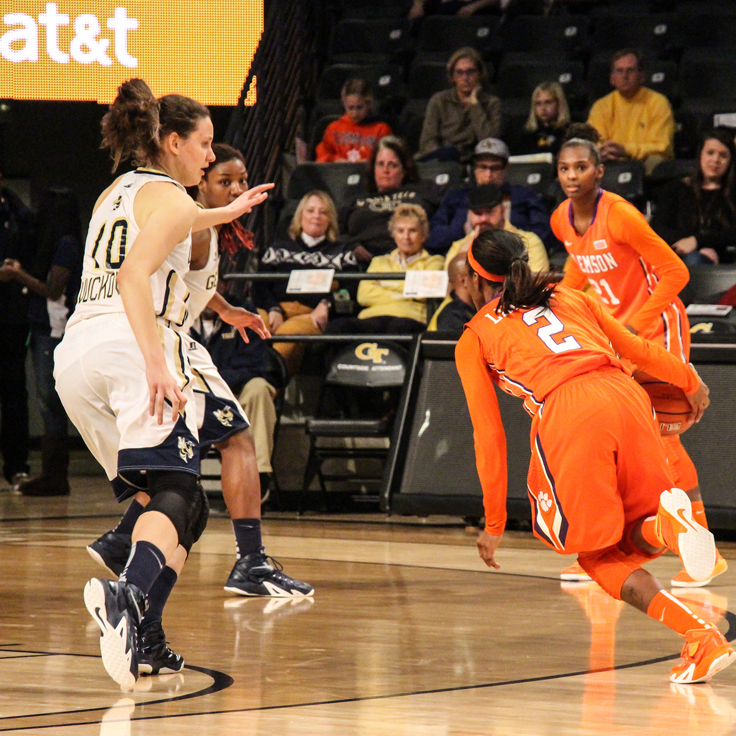 Tigers Come Up Short At Georgia Tech