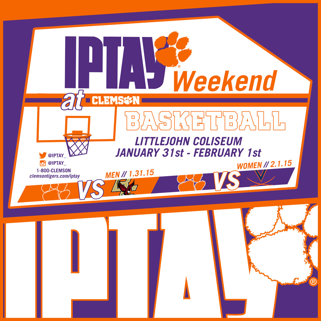 IPTAY Weekend At Clemson Basketball Set For January 31st And February 1st