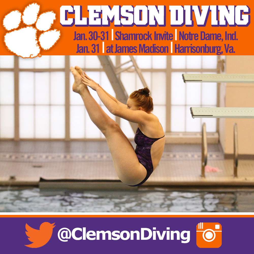 Tiger Divers Travel to Notre Dame, JMU This Weekend