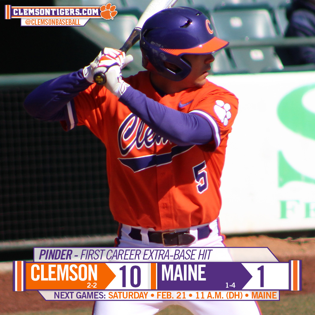 Tigers Outlast Maine 10-1 in Augusta on Friday