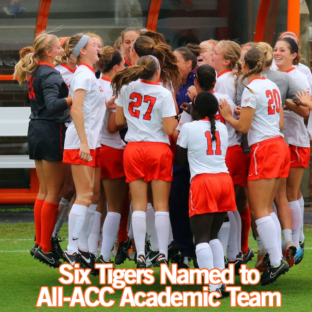 Six Tigers Named to 2014 All-ACC Academic Team