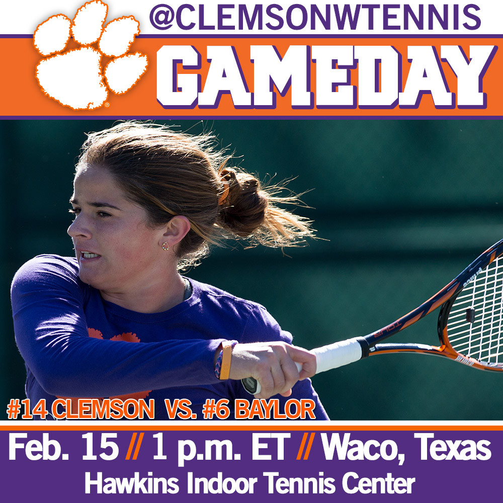 Tigers Travel to Waco to Face No. 6 Baylor