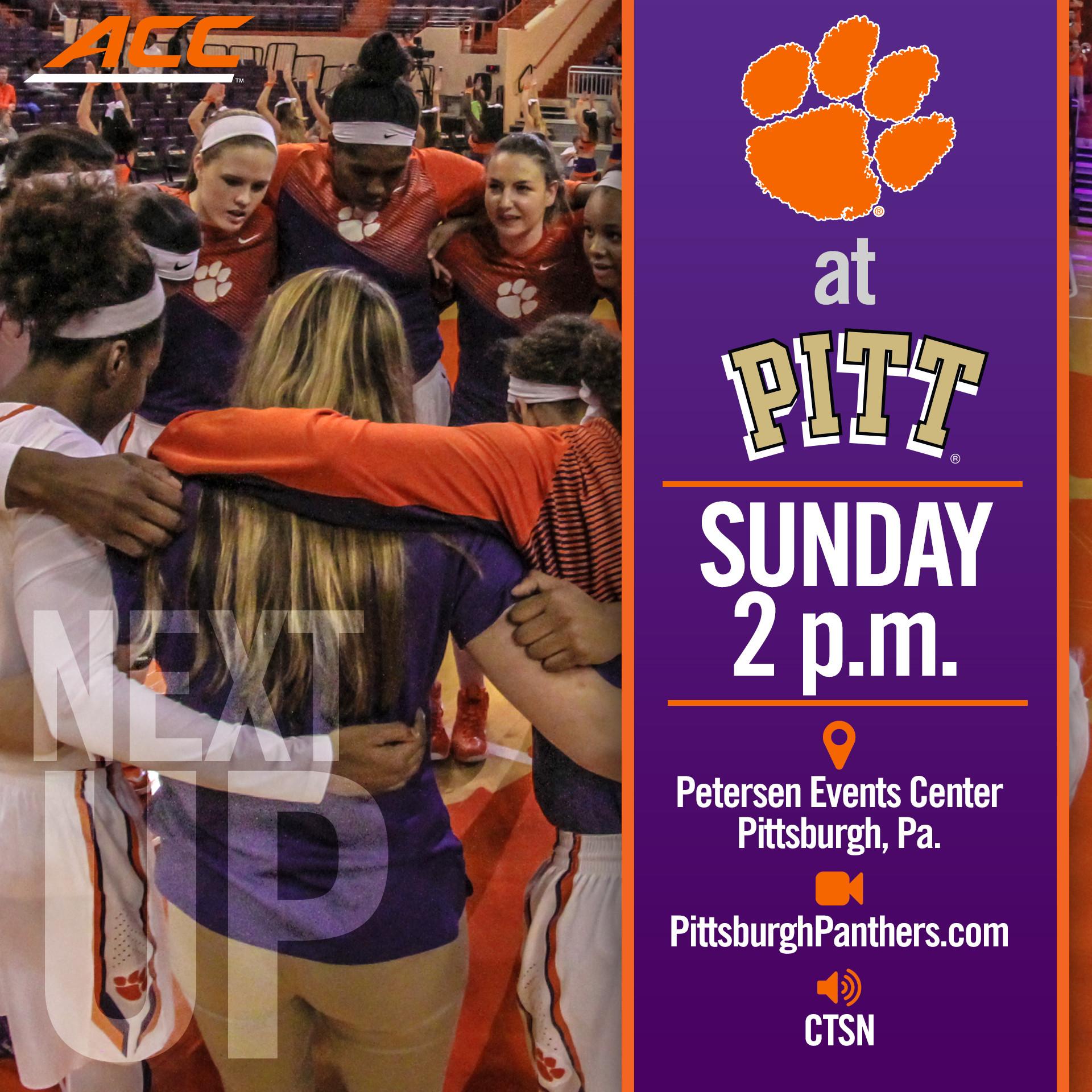 Women?s Basketball Closes Regular Season at Pitt