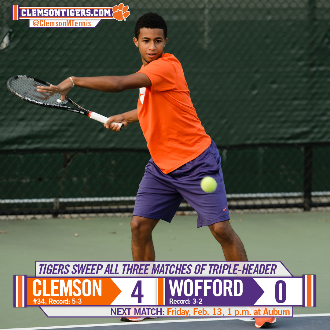 Clemson Sweeps Through Saturday Competition
