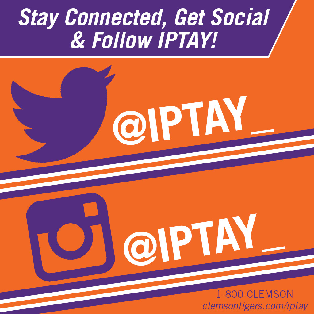 Stay Connected, Get Social & Follow IPTAY!