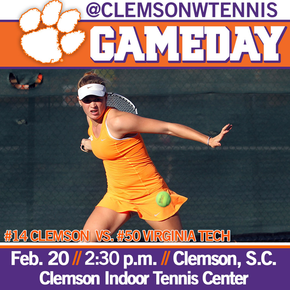 Tigers Host Virginia Tech Friday, Travel to Wake Forest Sunday