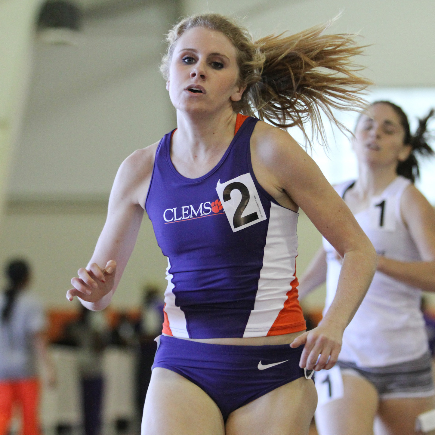 Goule, Barnett Lead Tigers at Armory